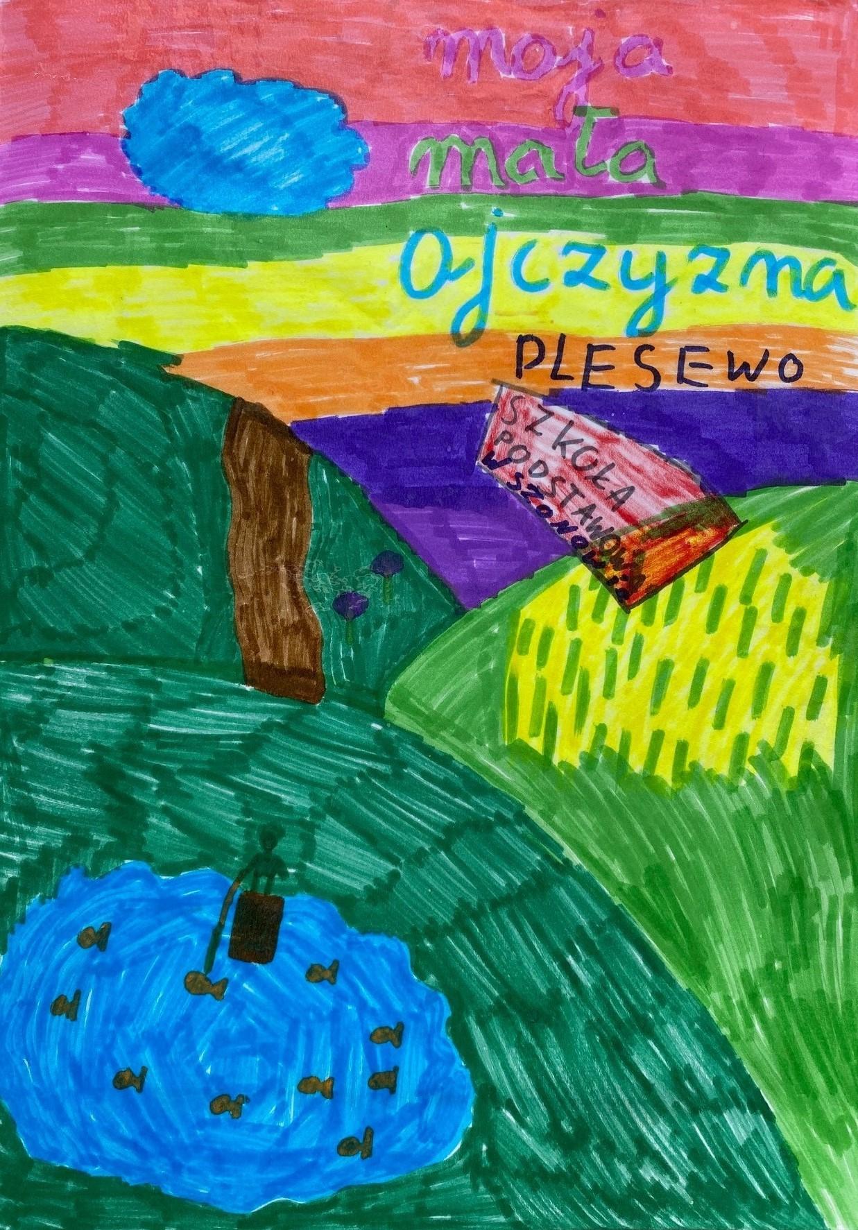 (13) Zofia, lat 9, gm. Łasin