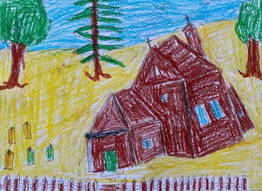 (61) Oliwier, lat 8, gm. Łasin